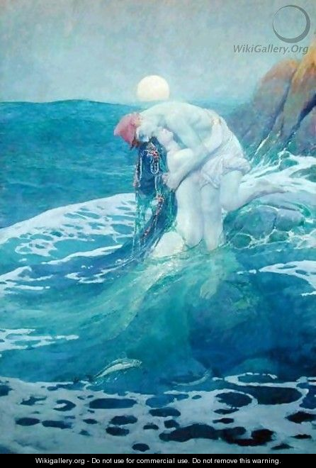 The Mermaid, 1909 - Howard Pyle