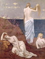 Young Girls by the Sea, before 1894 - Pierre-Cecile Puvis de Chavannes