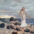 Woman by the Sea, 1887 - Pierre-Cecile Puvis de Chavannes