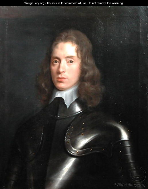 Portrait of Robert Stephens 1622-75 of Eastington, Gloucestershire, 1641 - (circle of) Russel, Theodore