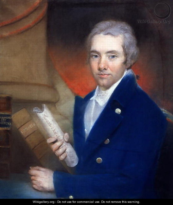 Portrait of William Wilberforce 1759-1833 by William Lane 1746-1819 - (after) Russell, John
