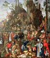 Martyrdom of the Ten Thousand, copy of a painting by Albrecht Durer, 1653 - Johann Christian Ruprecht