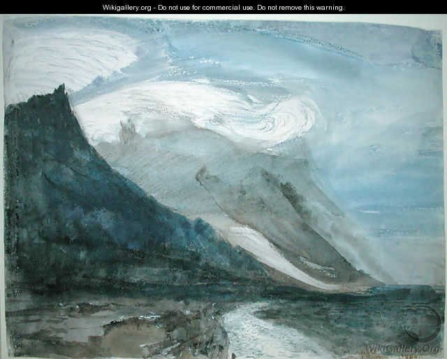 Moonlight, Chamonix, 1866 - John Ruskin