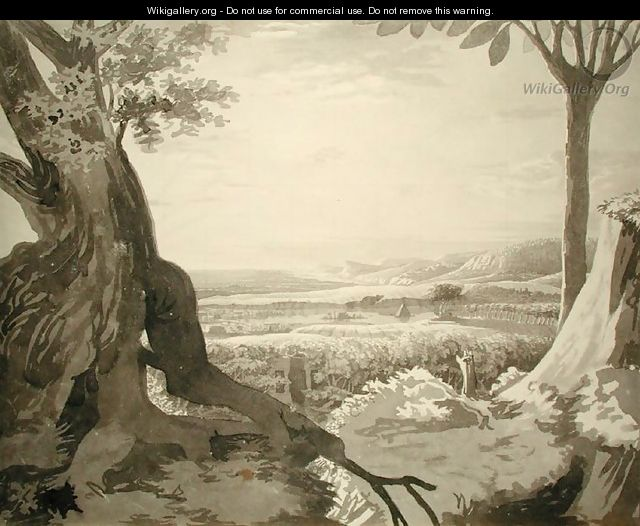 Nile Valley Landscape, 1805-6 - Philipp Otto Runge