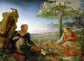 Rest on the Flight into Egypt, 1805-6 - Philipp Otto Runge