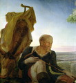 St Joseph from Rest on the Flight into Egypt, 1805-06 - Philipp Otto Runge