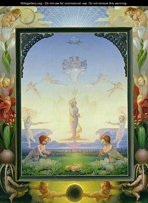 Morning, 1808 - Philipp Otto Runge