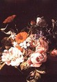 Vase of Flowers, 1695 - Rachel Ruysch