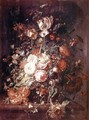 Flowers and Fruit - Rachel Ruysch