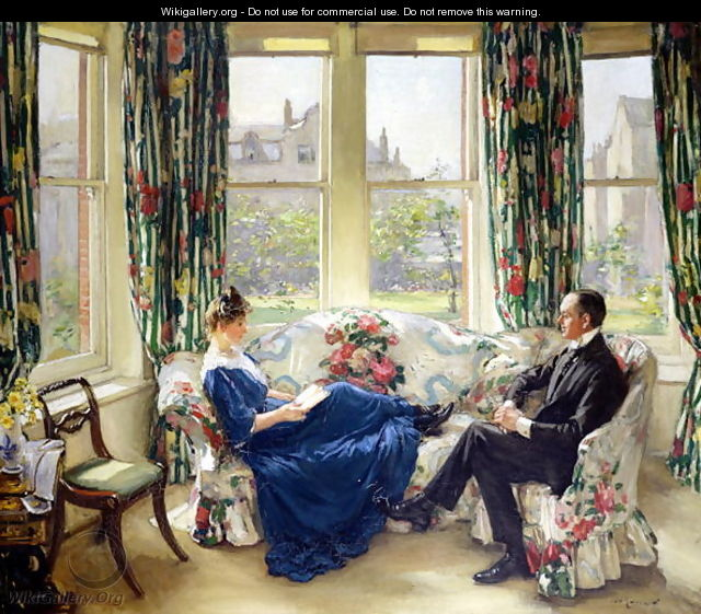 The Morning Room, c.1907 - Sir Walter Russell