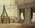 Neo-Classical Bedchamber, 1819 - Anonymous Artist
