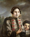 Portrait of Micoc and her Son Tootac, c.1769 - John Russell