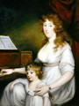 Portrait of a Lady with her Child, 1790 - John Russell