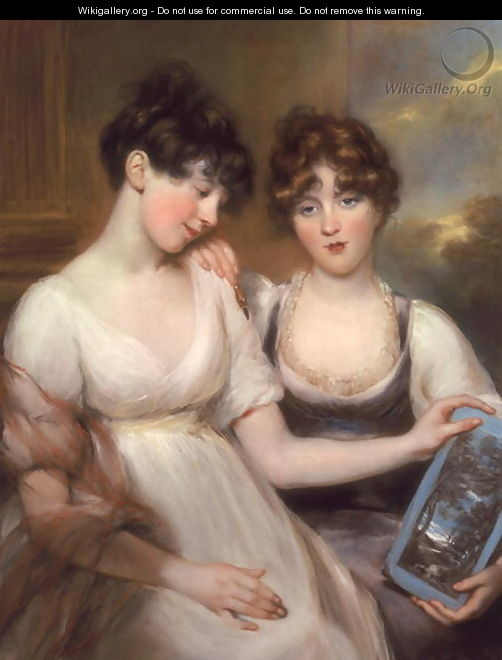Portrait of Anne and Maria Russell, 1804 - John Russell