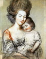 Mrs Russell and Child - John Russell