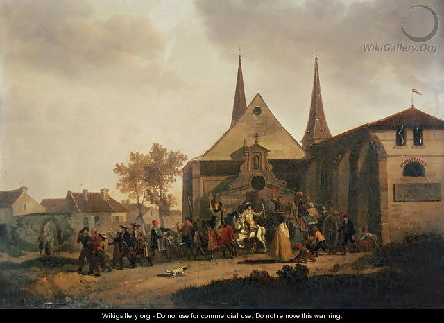 Pillage of a Church during the Revolution - Joseph Swebach-Desfontaines