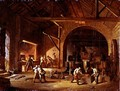 Interior of an Ironworks, 1850 - Godfrey Sykes