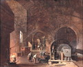 Interior of an Ironworks, c.1850-60 - Godfrey Sykes