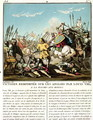 Victory Gained Over the English by Louis VIII 1187-1226 at La Roche aux-Moines, engraved by Jean Baptiste Morret fl. 1790-1820, 1790 - (after) Swebach, Jacques Francois Joseph
