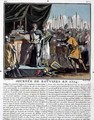 The Historic Day of Bouvines in 1214, engraved by Jean Baptiste Morret fl. 1790-1820, 1790 - (after) Swebach, Jacques Francois Joseph
