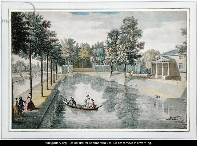 The Water Gardens at Chiswick House, London, c.1728-30 - Pieter Andreas Rysbrack