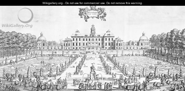 A view of Drottningholm Palace, 1692 - unknown
