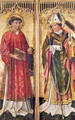 St. Stephen and St. Blaise, from the Altarpiece of Pierre Rup, c.1450 - Anonymous Artist