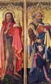 St. John the Baptist and St. Peter, from the Altarpiece of Pierre Rup, c.1450 - Anonymous Artist