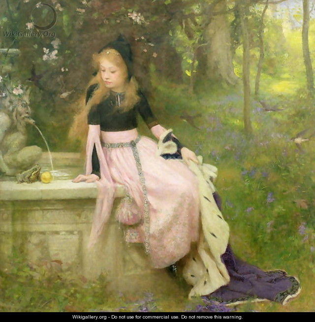 The Princess and the Frog, 1894 - William Robert Symonds