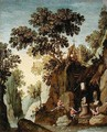 The Temptation of St. Anthony - Maerten Ryckaert
