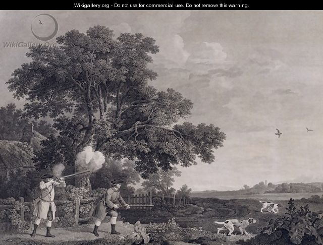 Shooting, plate 3, engraved by William Woollett 1735-85 1770 - (after) Stubbs, George