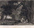 Shooting, plate 4, engraved by William Woollett 1735-85 1771 - (after) Stubbs, George