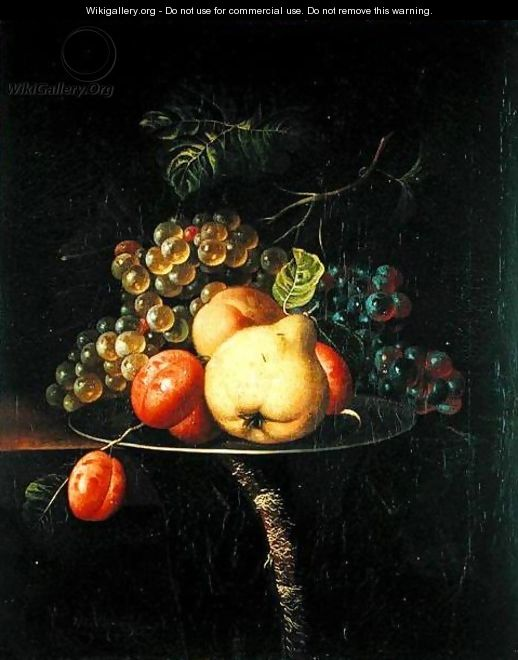 Fruit Still Life - Ernst Stuven