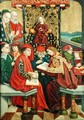Dispute with the Doctors, from the Dome Altar, 1499 - Absolon Stumme