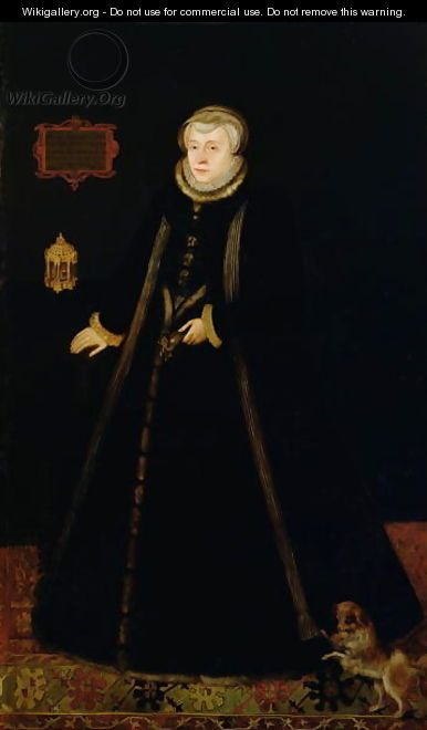 Portrait of Lady Margaret Douglas 1515-78 Countess of Lennox, after Daniel Mytens the elder c.1590-c.1648 - Rhoda Sullivan