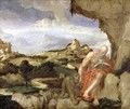 St. Jerome in the Wilderness - Lambert Sustris