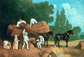 The Harvest Wagon - George Stubbs