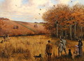 Pheasant Shooting - Christopher William Strange