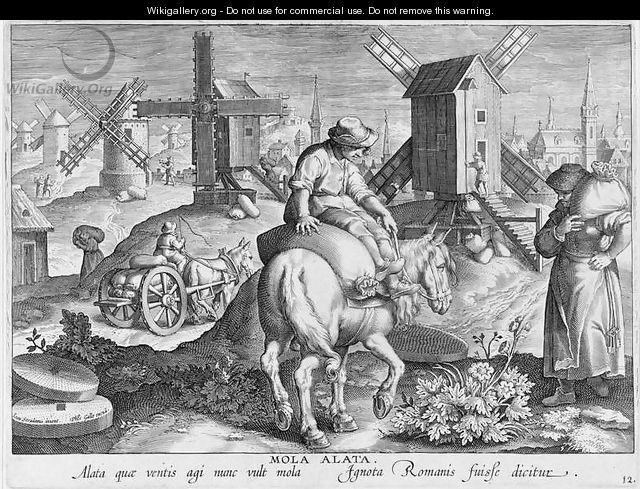 Windmills plate 12 from nova reperta new discoveries - Divano philip art nova ...