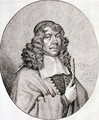 Portrait of Gabriel Schutz 1585-1672 engraved by Johann Friedrich Leonart 1633-80 1668 - (after) Strauch, Georg