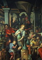 The Alchemists Workshop, 1570 - Jan van der (Joannes Stradanus) Straet