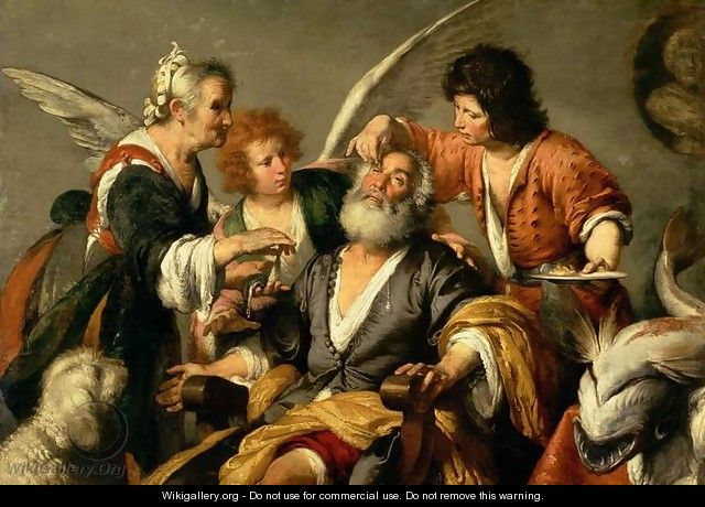 The Healing of Tobit, early 1630s - Bernardo Strozzi