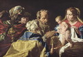 Adoration of the Magi - Matthias Stomer