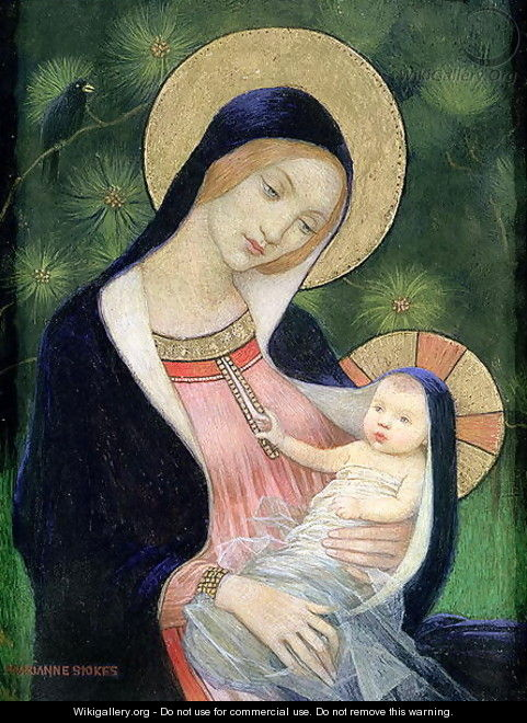 Madonna of the Fir Tree, 1925 - Marianne Preindelsberger Stokes
