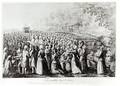 Meeting in the Desert, engraved by L. Bellotti, 1775 - (after) Storni, J.J.