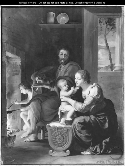 Holy Family, after 1650 - Jacques Stella