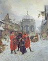 Christmas Eve, Highcross Market, Leicester - Henry Reynolds Steer
