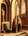 Two Figures in a Church - Hendrick van, the Younger Steenwyck
