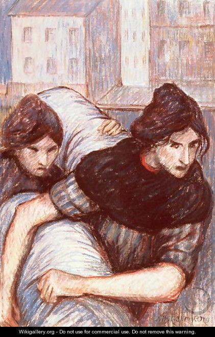 The Laundresses, 1898 - Theophile Alexandre Steinlen