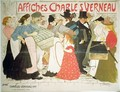 The Street, poster for the printer Charles Verneau, 1896 - Theophile Alexandre Steinlen